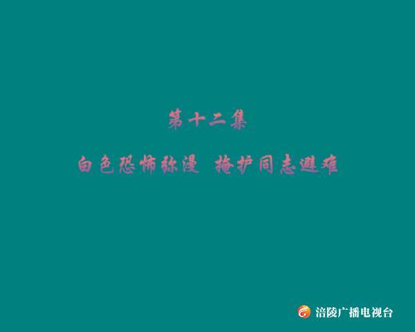 钩深大讲堂 170805 涪陵民主革命先行者-李蔚如 主讲人:王一安 第十二集